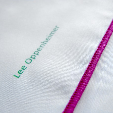 Lee Oppenheimer bavlněný bílý kapesníček No. 5
