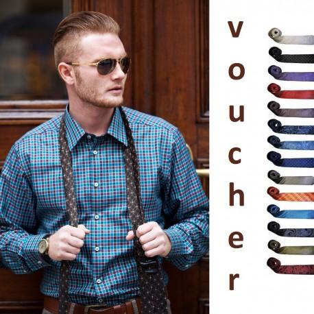 1 Krawatte VOUCHER