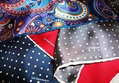 Lee Oppenheimer Handkerchief
